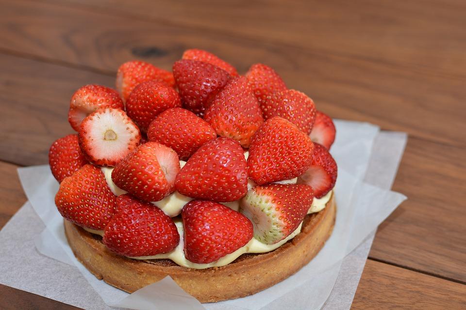 Ingevroren taart