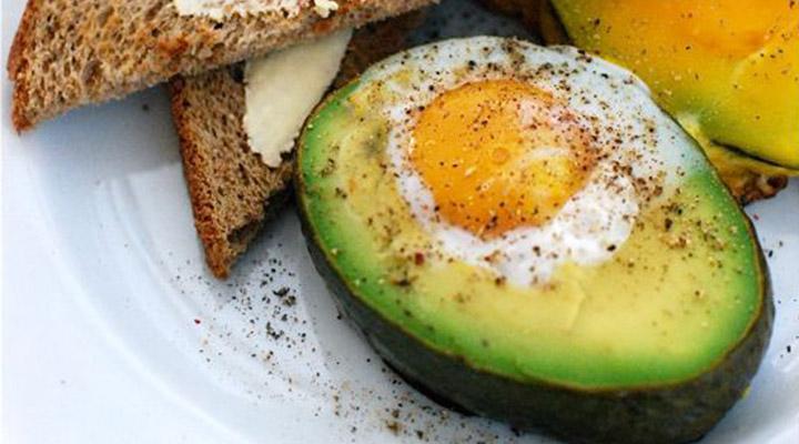 ei met avocado - gourmandelle.com