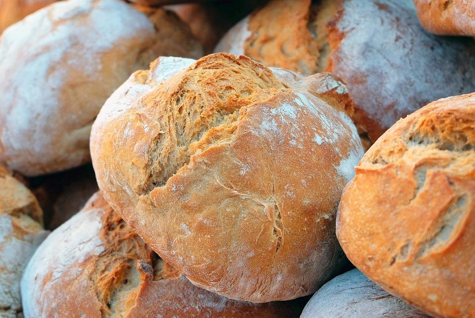 Vers brood zelfgebakken