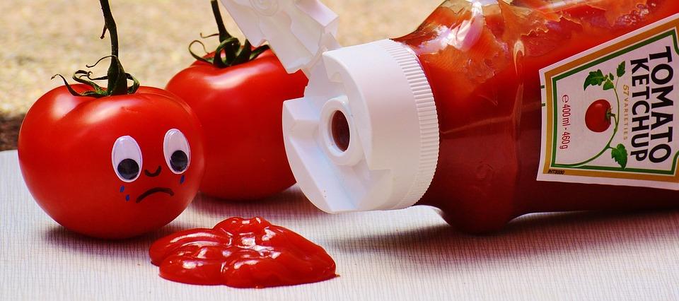 Zelfgemaakte ketchup is lekkerder dan winkel-ketchup