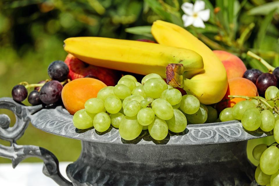 Fruitschaal voor tussendoortjes
