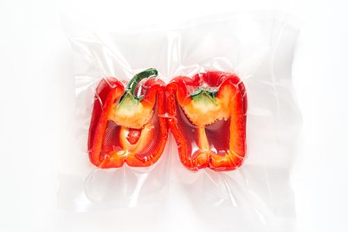 Paprika's vacuüm verpakt