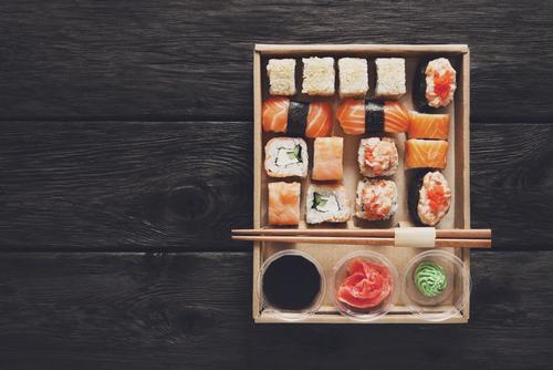 Sushi bestellen of afhalen