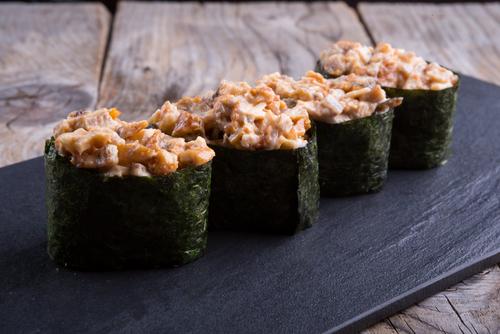 Sushi gunkan zelf maken