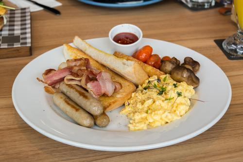 English breakfast recept