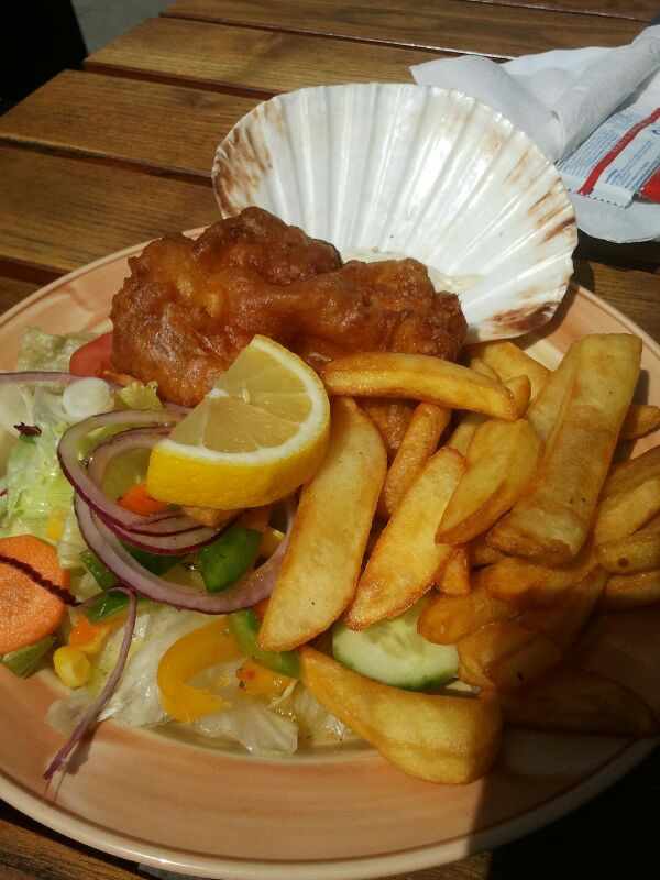 Fish and chips engels eten