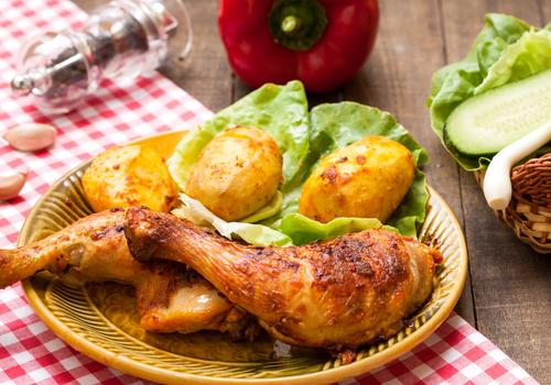 gezond afvallen eten