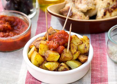 Patatas Bravas Spaanse tapas