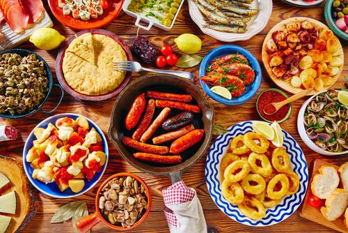 Uitzonderlijk Top 10 Spaanse tapas gerechten - Meer Weten Over Eten #KG56