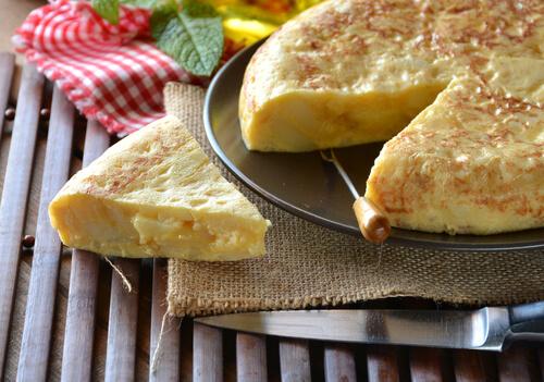 Tortilla de Patatas Spaanse tapas