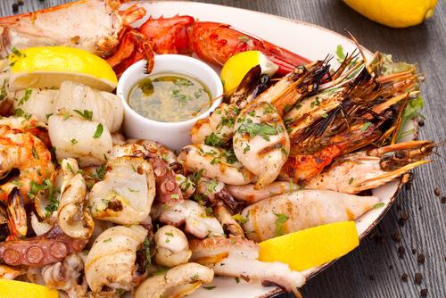 Seafood Spaanse tapas