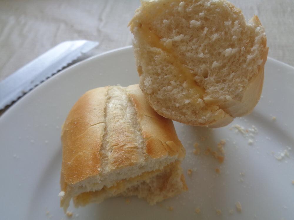 Gesmolten stompetoren kaas