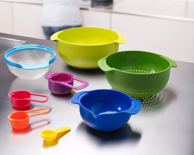 joseph joseph kleur in de keuken