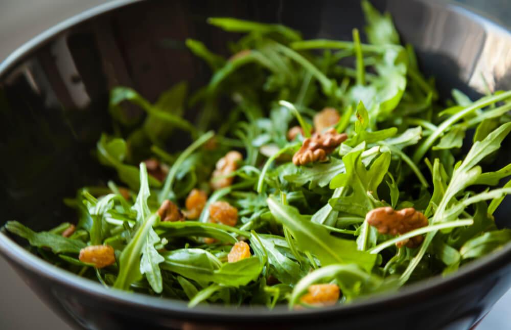 Salade met walnoot