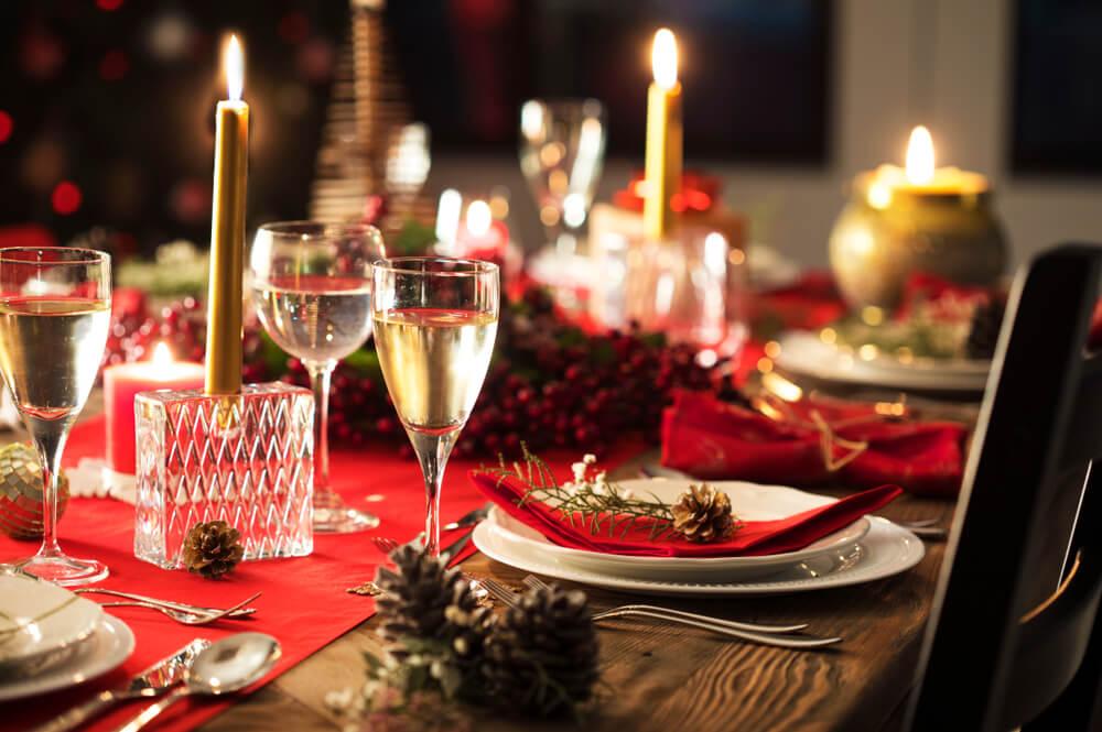 Kerst tafelschikking