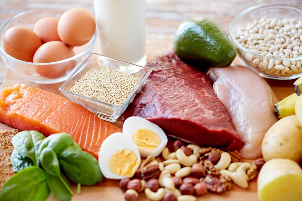 Vlees, vis en eieren