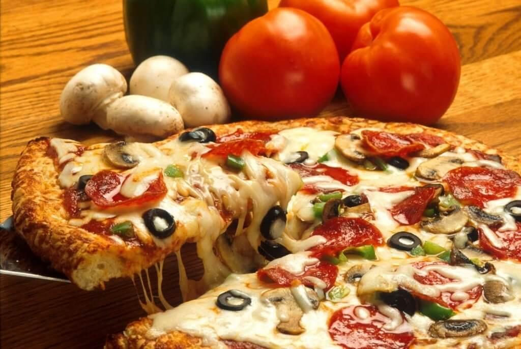Zeewier socca pizza