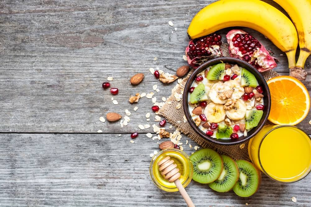 Fruit ontbijt