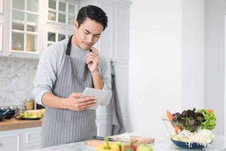 Moderne recepten en ingrediënten