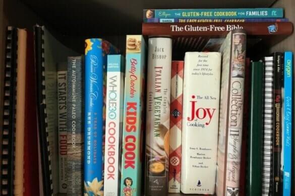 Waarom het tijd wordt om je oude kookboeken de deur uit te doen