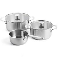 KitchenAid Stainless Steel Kookpannenset