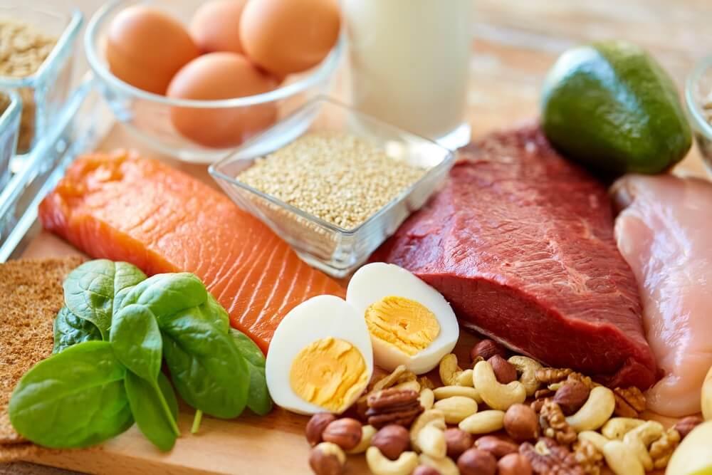 Wanneer heb je eiwitrijk voedsel nodig?