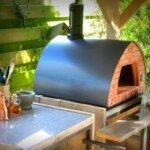 10. Pizza Party - Houtgestookte Pizzaoven - 70 x 70 - Grijs