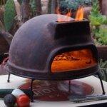 5. Sol-y-Yo Houtgestookte Toscaanse Stenen Pizza oven 52CM