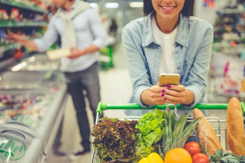 Ga op een rustig moment naar de supermarkt